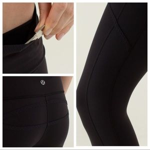 Lululemon Roll-Out Cropped leggings